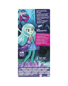 Кукла Эквестрия Герлз Легенды вечнозеленого леса  Лира Хартстрингс 22 см Equestria Girls