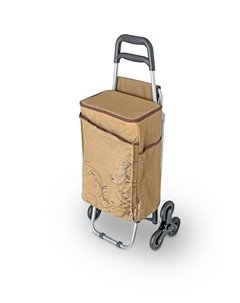 Сумка-термос  Wheeled Shopping Trolley, цвет: коричневый Thermos