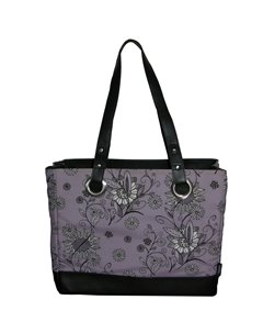 Сумка-термос  Raya Can Tote-Purple Flower Thermos