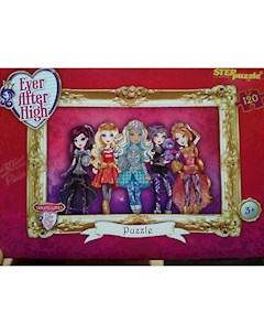 Пазл Ever after high 120 деталей Step Puzzle Степ Пазл