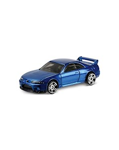 Базовая машинка Hot Wheels Nissan Skyline GT R R33 Mattel
