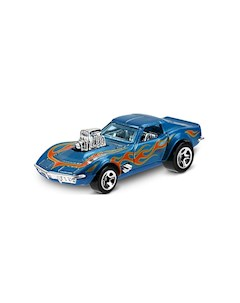 Базовая машинка Hot Wheels 68 Corvette Gas Monkey Garage Mattel