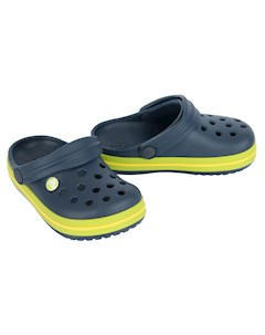 Сабо Crocband Clog Kids цвет синий CROCS