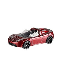 Базовая машинка Hot Wheels Tesla Roadster With Starman Mattel