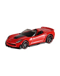 Базовая машинка Hot Wheels Corvette C7 Z06 Convertible Mattel