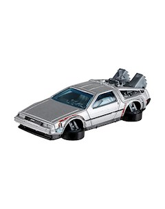 Базовая машинка Hot Wheels Back To The Future Time Machine Hover Mode Mattel