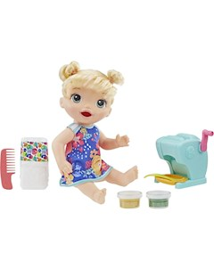 Кукла Super Snacks Малышка и Макароны 35 см Baby Alive