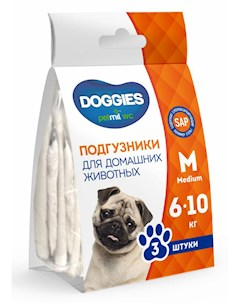 Подгузники Doggies от 6 10 кг petmil