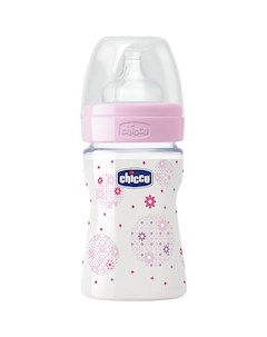 Бутылочка Well Being Girl 0мес сил соска РР 150мл CHICCO Chicco