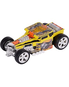 Машина Freeway Flyer Bone Shaker свет желтая 14 см Hot Wheels Toystate