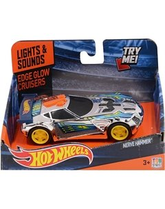 Машинка - Nerve Hammer (свет, звук), 13,5 см, Hot Wheels Toystate