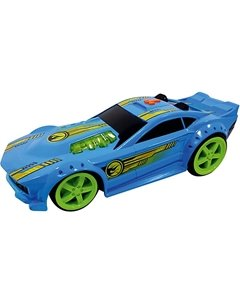 Машинка Mega Muscle - Drift Rod (свет, звук), синяя, 32,5 см, Hot Wheels Toystate