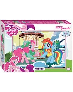 Пазл My little Pony 104 детали Step Puzzle Степ Пазл