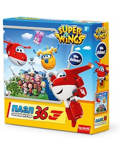 Пазл Целый мир Super Wings Origami