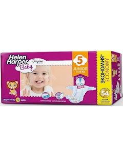 Подгузники Junior Helen Harper Baby 11 25 кг 54 шт