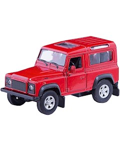 Модель машины 1 34 39 Land Rover Defender Welly WELLY