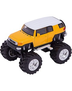 Модель машины 1 34 39 Toyota FJ Cruiser Big Wheel Welly WELLY