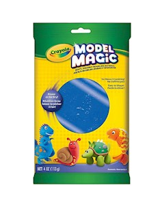Застывающий пластилин Crayola Model Magic синий 113 гр