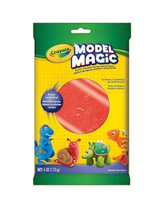 Застывающий пластилин Crayola Model Magic красный 113 гр