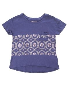 Футболка Into The Deep G Tees Blue Print ROXY