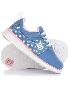 Кроссовки детские DC Heathrow T Blue White Print DC Shoes