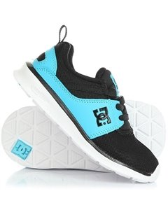 Кроссовки детские DC Heathrow Real Black Blue DC Shoes