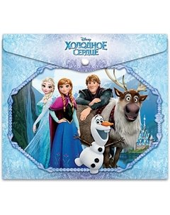 Папка конверт Disney Frozen А4 Limpopo