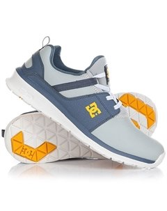 Кроссовки детские DC Heathrow Se Blue Grey DC Shoes